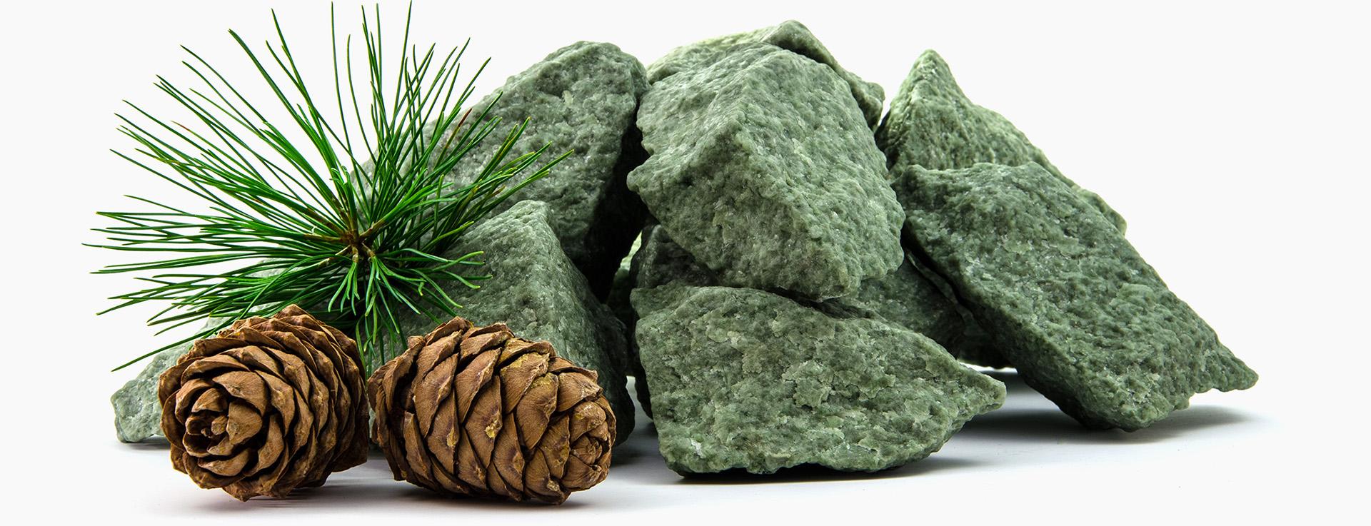Сибирский жадеит камень для бани